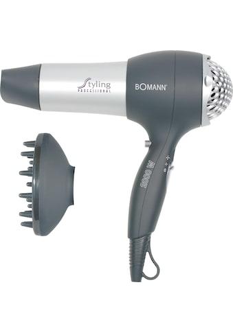 BOMANN Haartrockner HTD 889 CB, 2000 Watt, Aufsätze: 2 kaufen