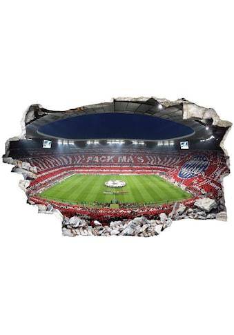 Wall-Art Wandtattoo »Aufkleber FCB Stadion Pack Ma's« kaufen