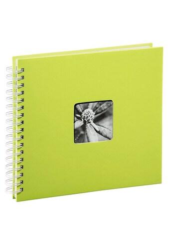 Hama Spiralalbum 28 x 24 cm, 50 weiße Seiten, Fotoalbum, kiwi kaufen
