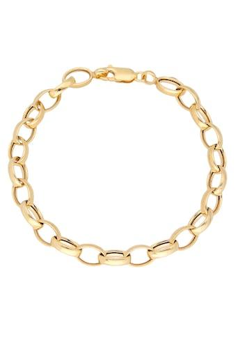 Firetti Goldarmband »In Ankerkettengliederung, 6,3 mm breit, Glanzoptik, hohl« kaufen