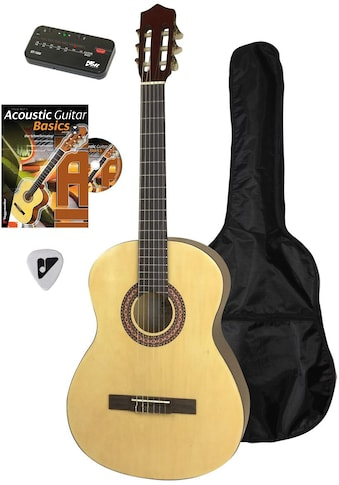 Voggenreiter Akustikgitarre »Akustikgitarren-Set«, 4/4 kaufen