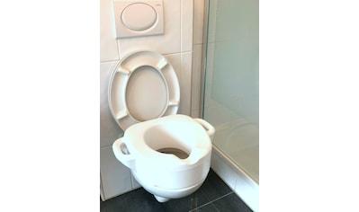 BISCHOF WC - Sitzerhöhnung »Toiletten - Aufsatz«, mit zwei Griffen kaufen