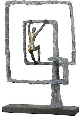 Casablanca by Gilde Dekofigur »Skulptur Power, bronzefarben«, Dekoobjekt, Höhe 41, Wohnzimmer kaufen
