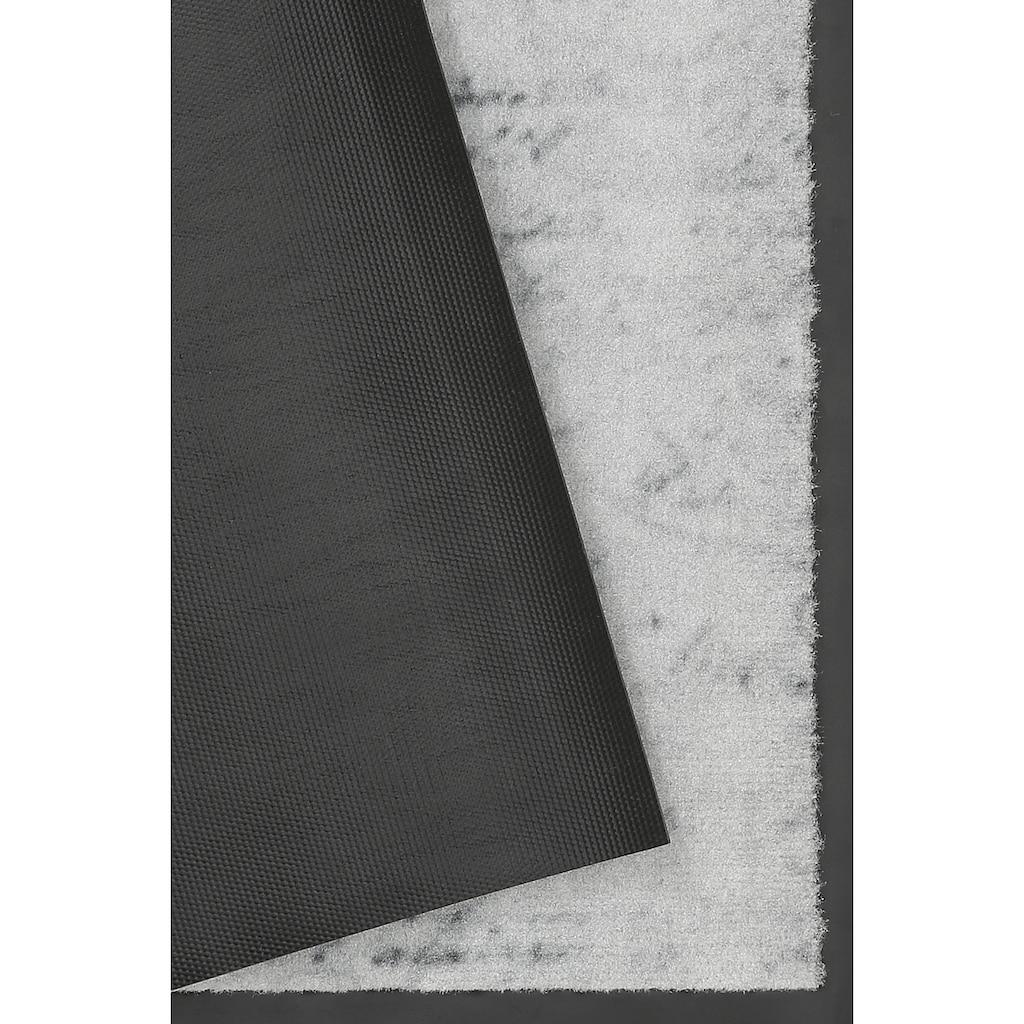 HANSE Home Fußmatte »Krone«, rechteckig, 9 mm Höhe, Schmutzfangmatte