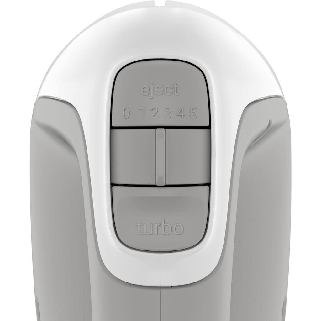 Tefal Handmixer »Prep'Mix HT450B«, 450 W, 5 Geschwindigkeiten; 2 Schneebesen und 2 Knethaken aus Edelstahl
