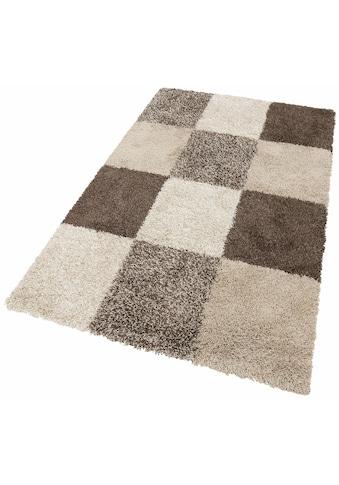 Hochflor - Teppich, »Denton«, merinos, rechteckig, Höhe 50 mm, maschinell gewebt kaufen