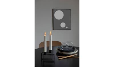 KONSTSMIDE LED Dekolicht, Warmweiß, Kerzen, 2er-Set, weiß kaufen