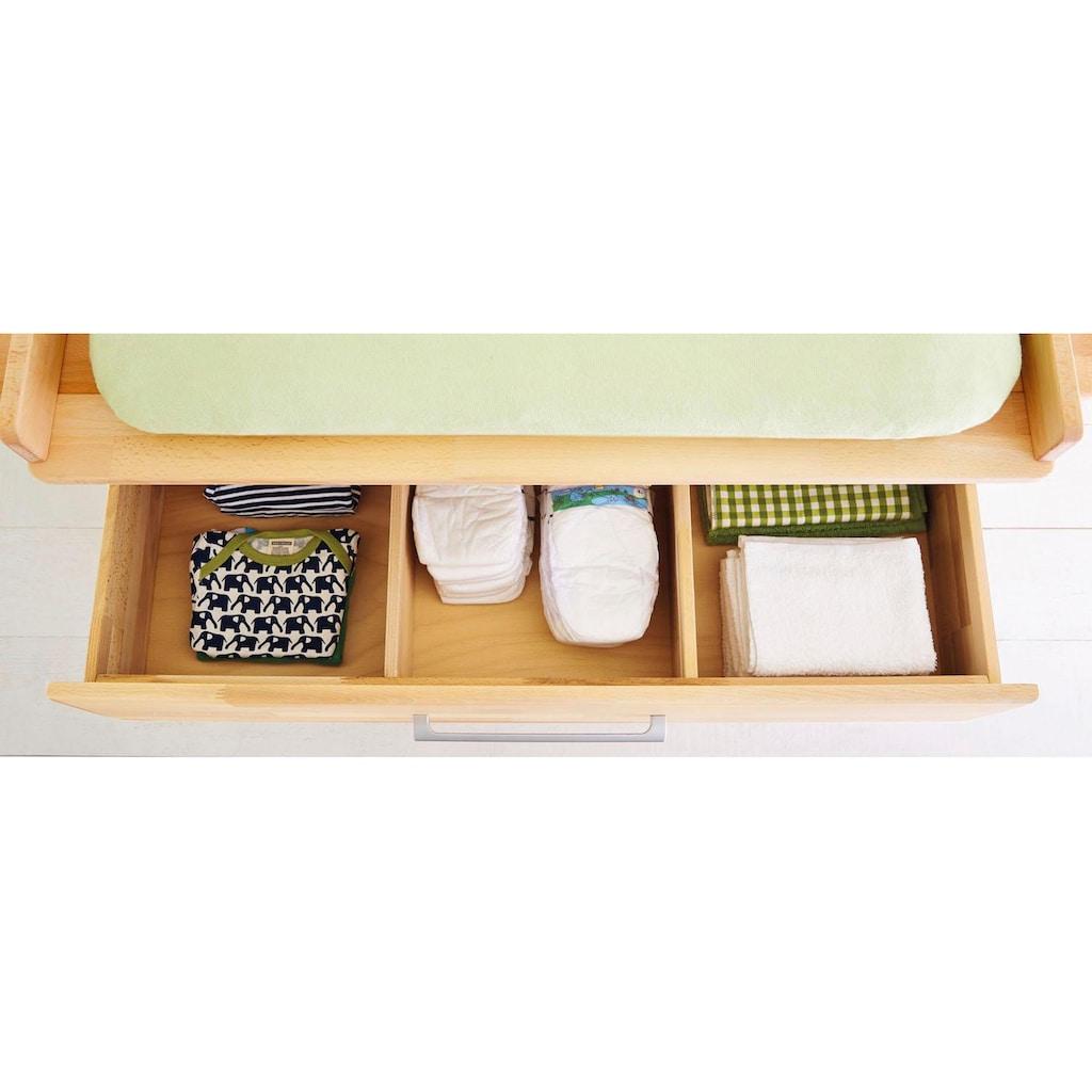Pinolino® Babyzimmer-Komplettset »Natura«, (Set, 3 St.), breit; mit Kinderbett, Schrank und Wickelkommode; Made in Europe
