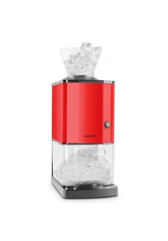 ONECONCEPT Ice Crusher 15kg/h 3,5 Liter Eisbehälter Edelstahl »OJ6-Icebreaker-R« kaufen