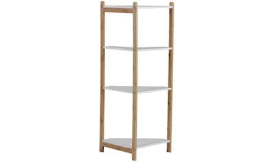 axentia Eckregal »Eckregal, Bambus, 4 Böden« kaufen