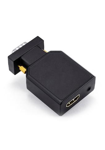 CSL 1080p VGA zu HDMI Video-/Audio Konverter »VGA Stecker + 3,5mm Klinken Buchse zu... kaufen