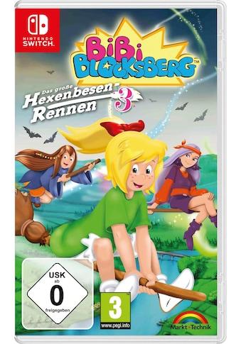 Markt+Technik Spiel »Bibi Blocksberg: Hexenbesen-Rennen 3«, Nintendo Switch, Software... kaufen