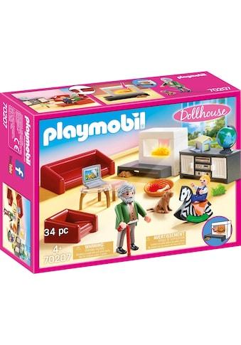 """Playmobil® Konstruktions - Spielset """"Gemütliches Wohnzimmer (70207), Dollhouse"""", Kunststoff, (34 - tlg.) kaufen"""