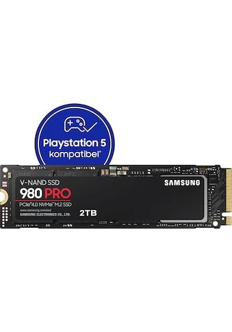 Samsung interne SSD »980 PRO NVMe M.2«, Playstation 5 kompatibel, PCIe 4.0 NVMe™ kaufen