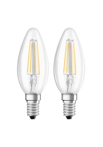 Xavax LED - Filament, E14, 470lm ersetzt 40W, Kerzenlampe, Warmweiß »LED - Lampe 230V 2 Stück« kaufen