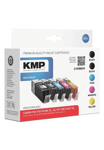 KMP Tintenpatronen - Set ersetzt Canon »PGI - 570XL/CLI - 571XL« kaufen