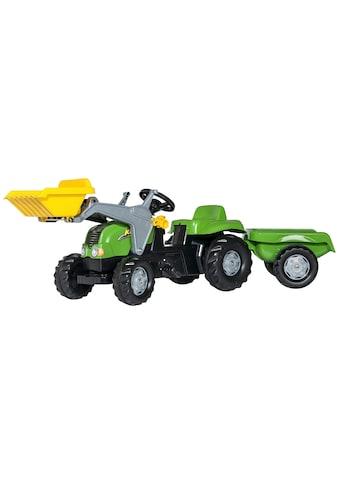 Tretfahrzeug, Traktor mit Trailer und Lader kaufen