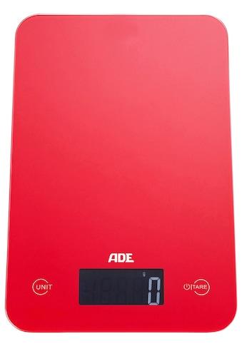ADE Küchenwaage »KE 927 - Slim«, mit Sensor-Touch, 15 mm flach, grammgenau bis 5kg kaufen