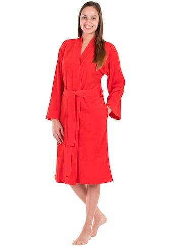framsohn frottier Damenbademantel »Jersey«, besonders leicht kaufen