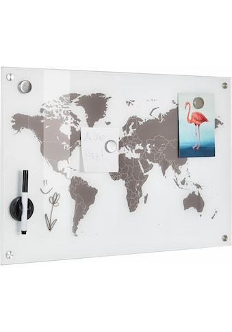"""Zeller Present Pinnwand """"Worldmap"""" kaufen"""