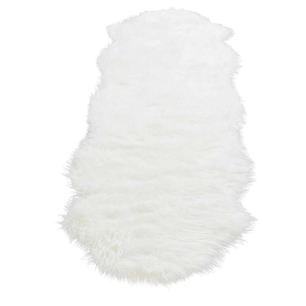 Home affaire Fellteppich »Dena«, fellförmig, 60 mm Höhe, Kunstfell, sehr weicher Flor