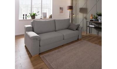 Home affaire Polstergarnitur »Tiny November«, (3 tlg.), Verwandlungsofa: 2 Hocker im Sofa integriert, können separat gestellt werden, Sitzbreite 180 cm kaufen