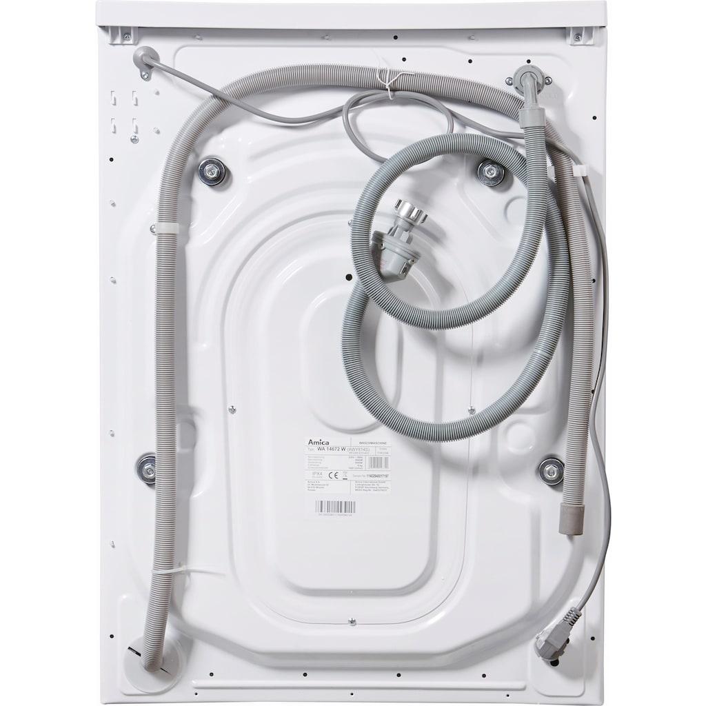 Amica Waschmaschine »WA 14672 W«, WA 14672 W