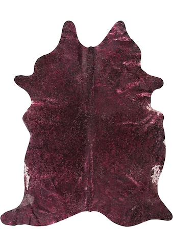 Fellteppich, »Fell Pop Art«, LUXOR living, fellförmig, Höhe 4 mm, gegerbt kaufen