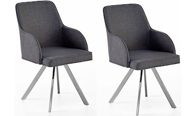 MCA furniture Esszimmerstuhl »Elara C«, 2er-Set, drehbar 180° mit Nivellierung, Belastbar bis max. 120 kg kaufen