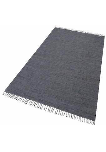 Teppich, »Happy Cotton«, THEKO, rechteckig, Höhe 5 mm, handgewebt kaufen