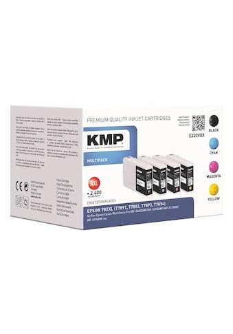 KMP Tintenpatronen - Set ersetzt Epson 78XXL »T7891 / T7892 / T7893 / T7894« kaufen