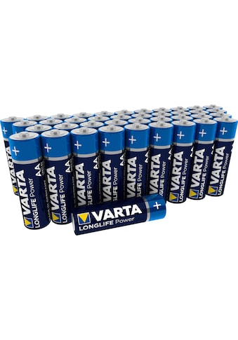 VARTA »VARTA LONGLIFE Power Storagebox Alkaline Batterie Vorratspack AA Mignon LR6 40er Batterien Pack Made in Germany« Batterie kaufen