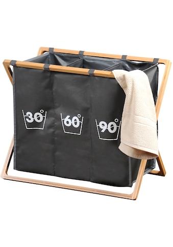 KESPER for kitchen & home Wäschesortierer, aus strapazierfähigem Polyester mit... kaufen