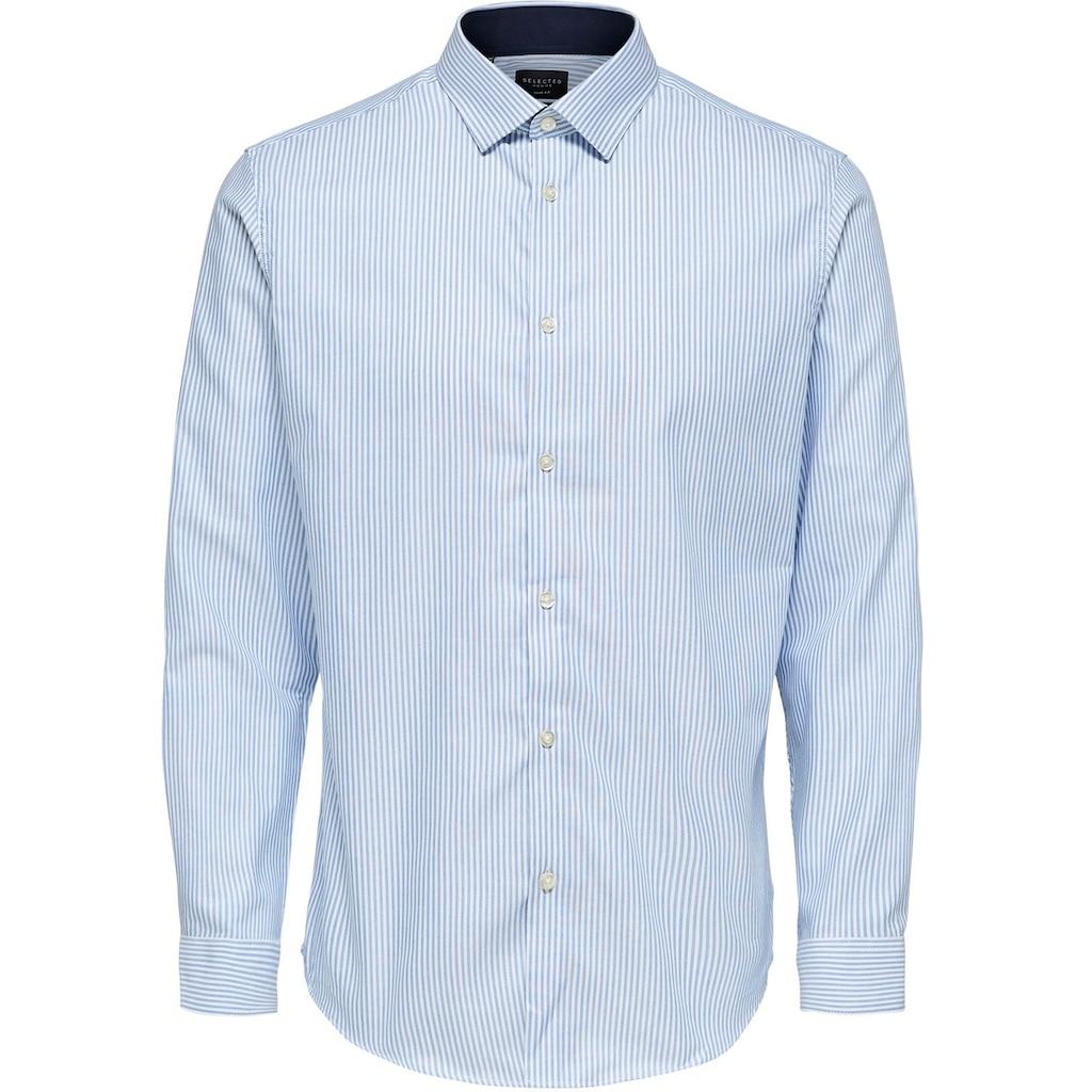 SELECTED HOMME Businesshemd »SLIM NEW-MARK SHIRT«