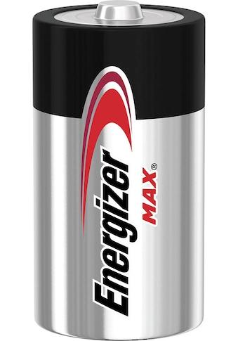 Energizer Batterie »MAX C Alkali Batterien 4er Pack«, (Packung, 4 St.) kaufen