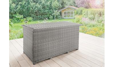 DESTINY Kissenbox »Casa«, 96x175x90 cm, Polyrattan, weiß kaufen