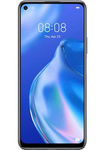 """Huawei Smartphone »P40 lite 5G«, (16,51 cm/6,5 """" 128 GB Speicherplatz, 64 MP Kamera), 24 Monate Herstellergarantie kaufen"""