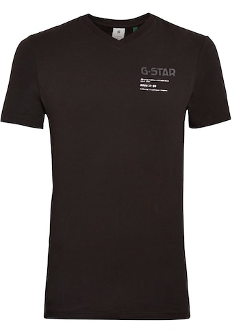 G - Star RAW V - Shirt »,G - star Chest Graphic Slim v t« kaufen