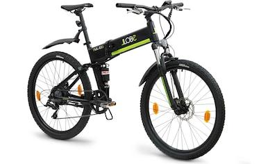 "LLobe E-Bike »FML-830 black 27,5"", 10,4 Ah«, 9 Gang, Shimano, Heckmotor 250 W kaufen"
