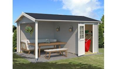 Outdoor Life Products Gartenhaus »Wibo«, mit Anbau kaufen