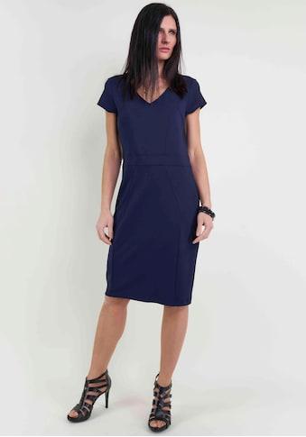Seidel Moden Jerseykleid, in Midi-Länge mit V-Aussschnitt, Made in Germany kaufen
