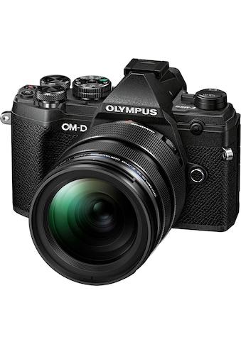 Olympus »OM - D E - M5 Mark III« Systemkamera (M.Zuiko Digital ED 12 - 40mm F2.8 PRO, 20,4 MP, Bluetooth NFC) kaufen