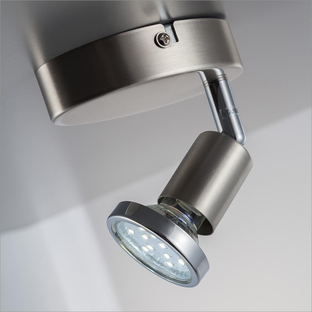 B.K.Licht LED Wandleuchte, GU10, Warmweiß, LED Deckenleuchte Wohnzimmer schwenkbar GU10 Metall Wand-Spot Lampe