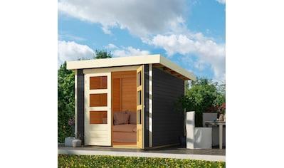KARIBU Gartenhaus »Arnis 2«, BxT: 242x238 cm kaufen