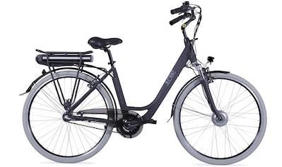LLobe E - Bike »Metropolitan JOY schwarz 8Ah«, 3 Gang Nabenschaltung, Frontmotor 250 W kaufen