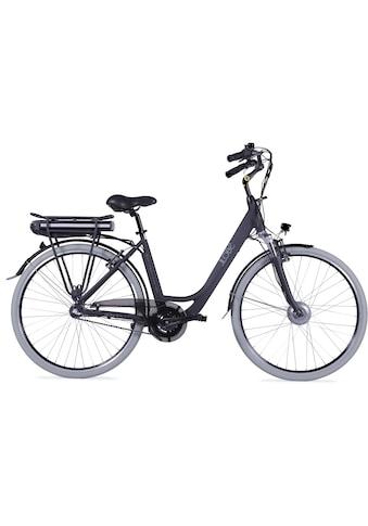 LLobe E-Bike »Metropolitan JOY schwarz 8Ah«, 3 Gang, Frontmotor 250 W kaufen