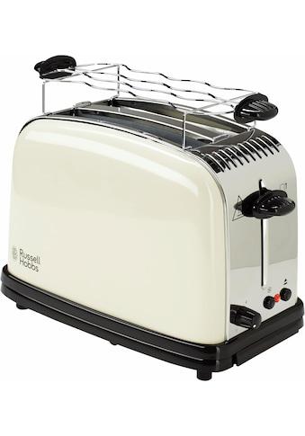 RUSSELL HOBBS Toaster »Colours Plus+ Classic Cream 23334-56«, 2 kurze Schlitze, 1670 W kaufen