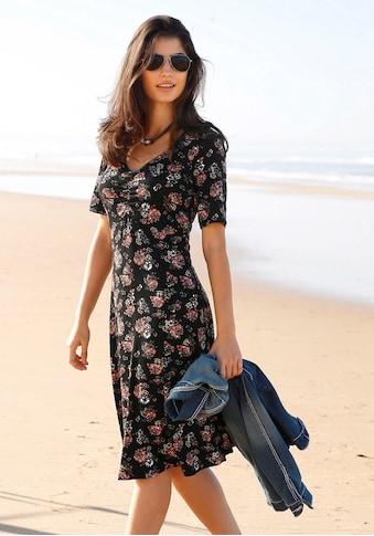Boysen's Jerseykleid, mit weit schwingendem Saum kaufen