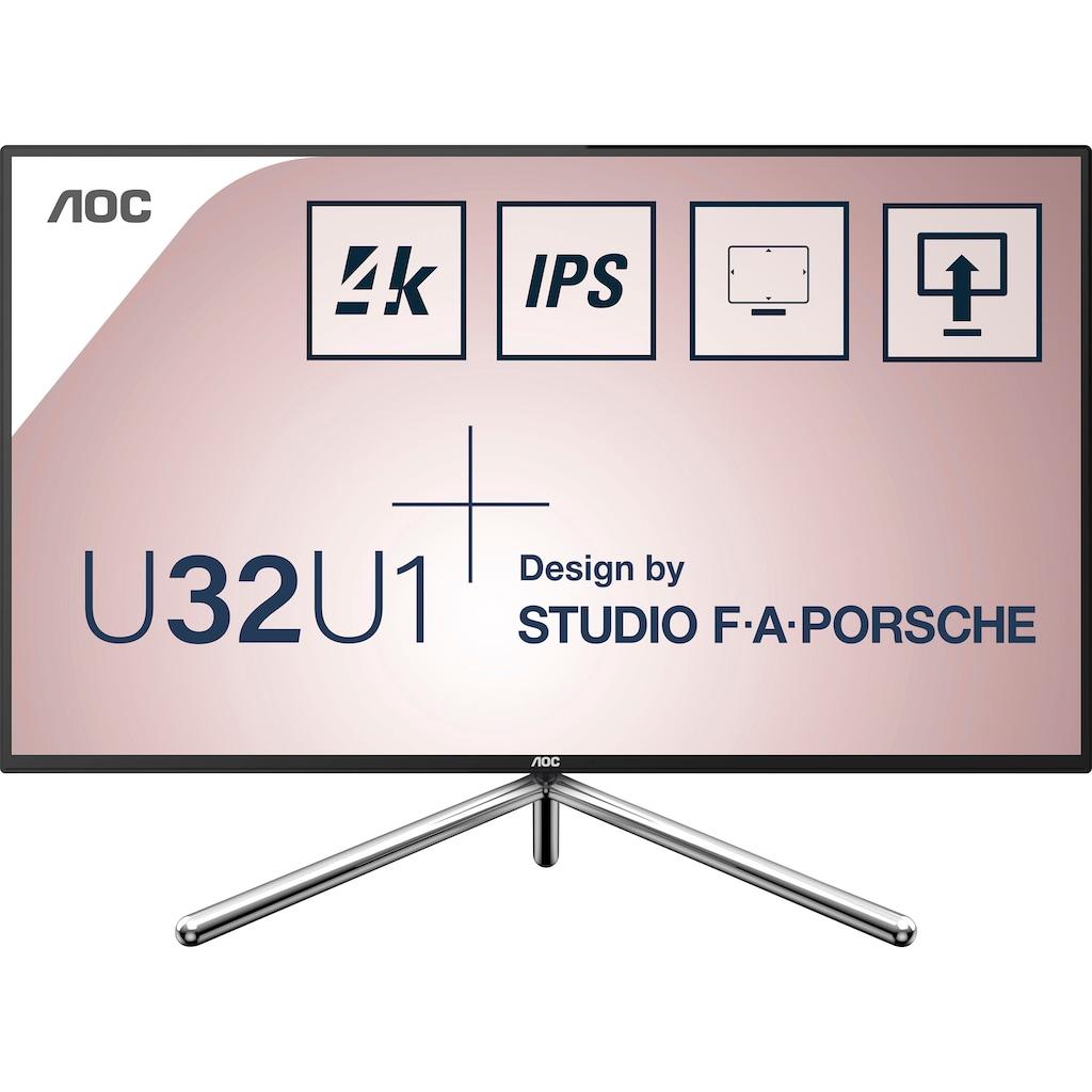 "AOC LED-Monitor »C32G2ZE/BK«, 80 cm/31,5 "", 1920 x 1080 px, Full HD, 1 ms Reaktionszeit, 240 Hz"