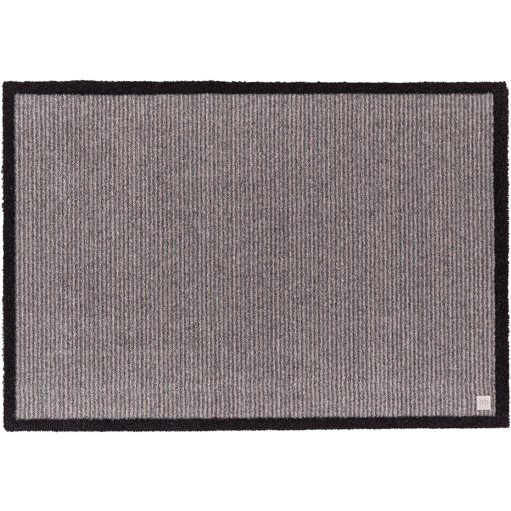 Barbara Becker Fußmatte »Gentle«, rechteckig, 10 mm Höhe, Schmutzfangmatte, In- und Outdoor geeignet, waschbar